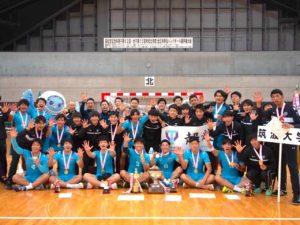 筑波大学男子ハンドボール部の全日本インカレ優勝に貢献した川谷響