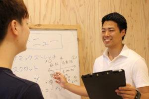 株式会社ORIGINESSの事業内容/パーソナルトレーニング指導①